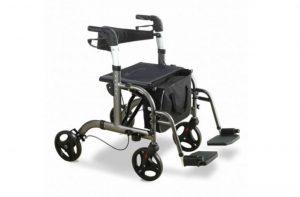 Rollator carrozzina pieghevole - Deambulatore Intermed