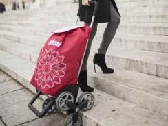 Carrello Portaspesa Gimi Tris: il carrello spesa per salire le scale