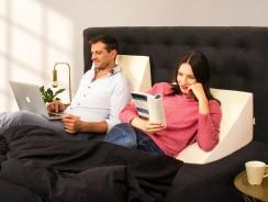 Cuscino a cuneo – Cuscino ad angolo per letto