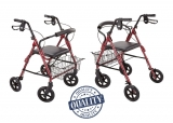Deambulatore Rollator per anziani e disabili