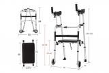 Deambulatore con appoggio brachiale – appoggia braccia