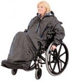 Mantella antipioggia per sedia a rotelle – poncho impermeabile