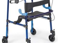 Deambulatore da interno con freni e sedile – Moretti