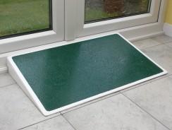 Rampa disabili in fibra di vetro per gradini e soglia di casa