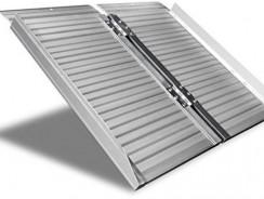 Rampa disabile in alluminio anodizzato Worhan
