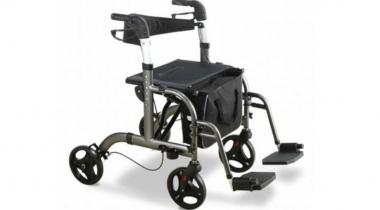 Rollator carrozzina pieghevole – Deambulatore Intermed