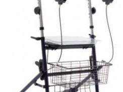 Rollator da esterno con appoggio antibrachiale