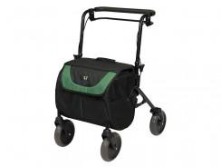Carrello spesa anziani con supporto camminata